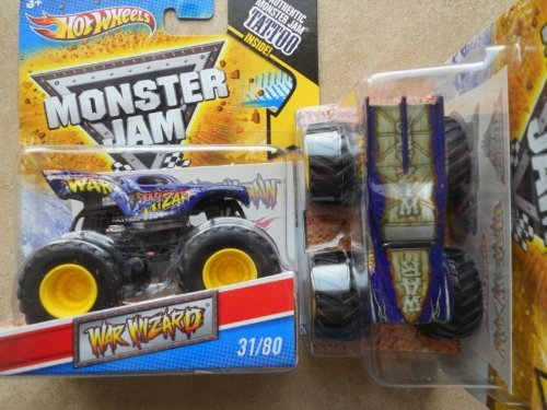 <title>無料ラッピングでプレゼントや贈り物にも 逆輸入並行輸入送料込 ホットウィール マテル ミニカー ホットウイール 送料無料 Hot Wheels 2011 Monster Jam #31 80 WAR Wizard 1.64 Scale 新入荷 流行 Collectible Truck with Tattooホットウィール</title>