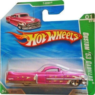 ホットウィール マテル ミニカー ホットウイール 【送料無料】Hot Wheels 2010 T-Hunt (Pink) Custom '53 Cadillac #53/214 (Short Card)ホットウィール マテル ミニカー ホットウイール