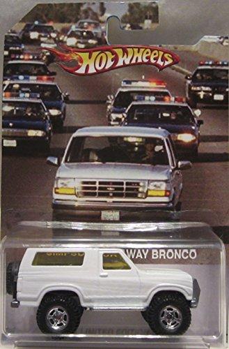 ホットウィール マテル ミニカー ホットウイール Hot Wheels CUSTOM OJ Simpson Run Away '85 FORD BRONCO Real Riders Rubber Wheels Limited Edition 1/25 Made!ホットウィール マテル ミニカー ホットウイール