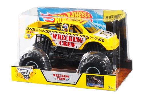 ホットウィール マテル ミニカー ホットウイール BGH26 Hot Wheels Monster Jam Wrecking Crew Die-Cast Vehicle, 1:24 Scaleホットウィール マテル ミニカー ホットウイール BGH26