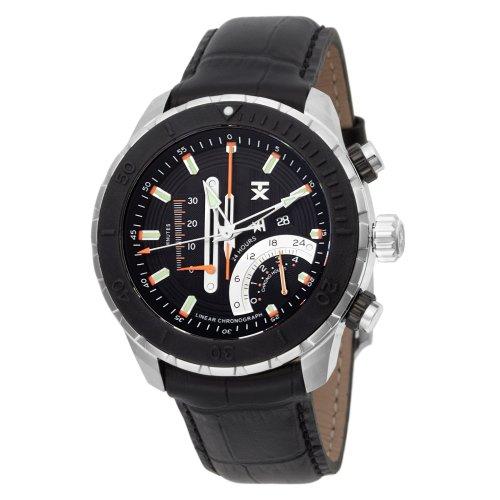 タイメックス 腕時計 メンズ T3C458 【送料無料】TX Men's T3C458 Linear Chronograph Watchタイメックス 腕時計 メンズ T3C458