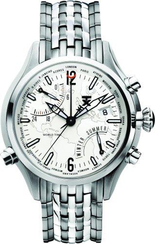タイメックス 腕時計 メンズ T3B821 TX Men's T3B821 500 Series World Time Stainless Steel Watchタイメックス 腕時計 メンズ T3B821