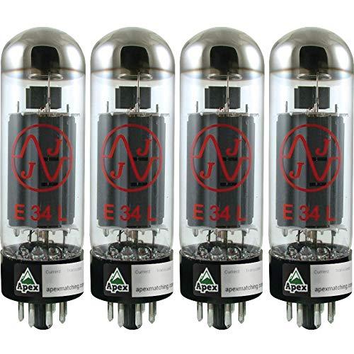 真空管 ギター・ベース アンプ 海外 輸入 JJ E34L Burned In Vacuum Tube, Apex Matched Quad真空管 ギター・ベース アンプ 海外 輸入