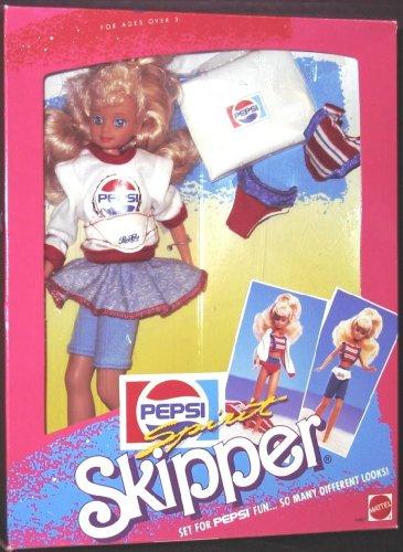 バービー バービー人形 チェルシー スキッパー ステイシー 4867 Barbie Pepsi Spirit SKIPPER Doll - Set for PEPSI Fun... So Many Different Looks (1989 Mattel Hawthorne)バービー バービー人形 チェルシー スキッパー ステイシー 4867