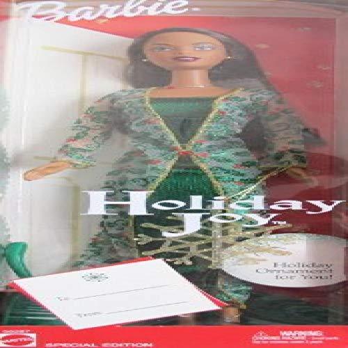 バービー バービー人形 日本未発売 ホリデーバービー 【送料無料】Holiday Joy Barbie Doll SPECIAL Edition AA w Sparkly 'SNOWFLAKE' ORNAMENT (2003)バービー バービー人形 日本未発売 ホリデーバービー