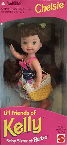 バービー バービー人形 チェルシー スキッパー ステイシー 14852, Asst. 14906 Barbie Li'l Friends of Kelly CHELSIE Doll (1995)バービー バービー人形 チェルシー スキッパー ステイシー 14852, Asst. 14906