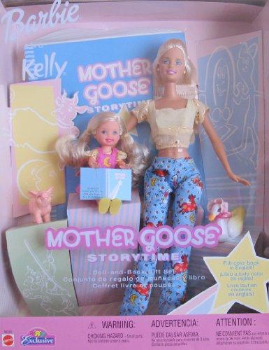 バービー バービー人形 チェルシー スキッパー ステイシー 56143 Barbie and Kelly MOTHER GOOSE Storytime DOLL & BOOK Gift Set Toys