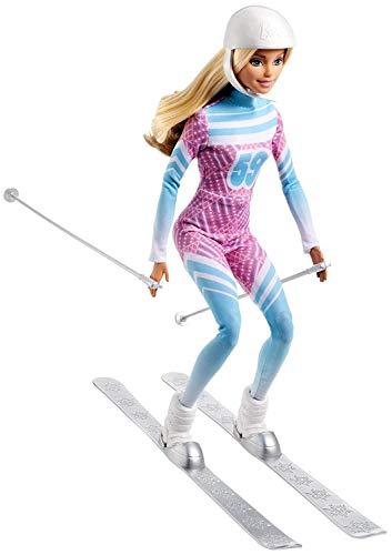 バービー バービー人形 メイドトゥームーブ 関節 動く 【送料無料】Barbie Skier Doll Pink Passport Made to Moveバービー バービー人形 メイドトゥームーブ 関節 動く