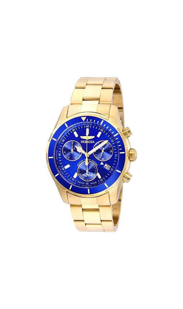 インヴィクタ インビクタ プロダイバー 腕時計 メンズ 【送料無料】Invicta Men's Pro Diver Quartz Stainless-Steel Strap, Gold, 20 Casual Watch (Model: 26056)インヴィクタ インビクタ プロダイバー 腕時計 メンズ