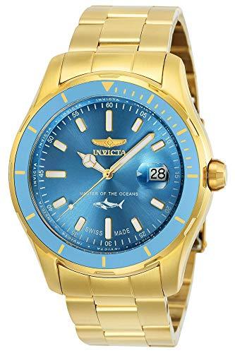 インヴィクタ インビクタ プロダイバー 腕時計 メンズ 【送料無料】Invicta Men's Pro Diver Quartz Watch with Stainless-Steel Strap, Gold, 22 (Model: 25813)インヴィクタ インビクタ プロダイバー 腕時計 メンズ