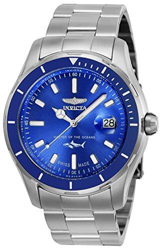 インヴィクタ インビクタ プロダイバー 腕時計 メンズ Invicta Men's Pro Diver Quartz Watch with Stainless-Steel Strap, Silver, 22 (Model: 25807)インヴィクタ インビクタ プロダイバー 腕時計 メンズ