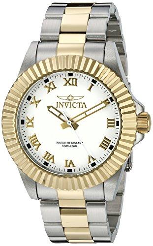 インヴィクタ インビクタ プロダイバー 腕時計 メンズ 【送料無料】Invicta Men's 16740 Pro Diver Two-Tone Stainless Steel White Dial Watchインヴィクタ インビクタ プロダイバー 腕時計 メンズ