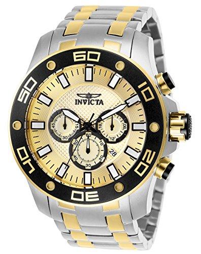 インヴィクタ インビクタ プロダイバー 腕時計 メンズ 【送料無料】Invicta Men's Pro Diver Quartz Watch with Stainless Steel Strap, Two Tone, 30 (Model: 26080)インヴィクタ インビクタ プロダイバー 腕時計 メンズ