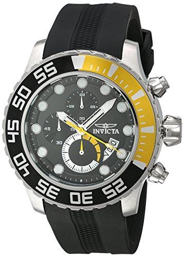 インヴィクタ インビクタ プロダイバー 腕時計 メンズ 【送料無料】Invicta Men's Pro Diver Stainless Steel Quartz Watch with Polyurethane Strap, Black, 26 (Model: 20449)インヴィクタ インビクタ プロダイバー 腕時計 メンズ