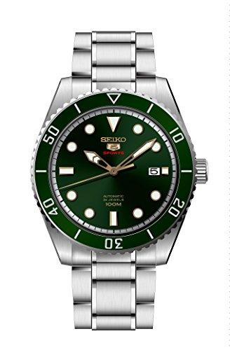 セイコー 腕時計 メンズ Seiko Series 5 Automatic Green Dial Mens Watch SRPB93セイコー 腕時計 メンズ