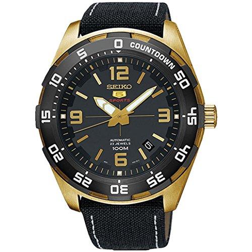 セイコー 腕時計 メンズ 【送料無料】Seiko Men's Analogue Automatic Watch with Textile Strap SRPB86K1セイコー 腕時計 メンズ