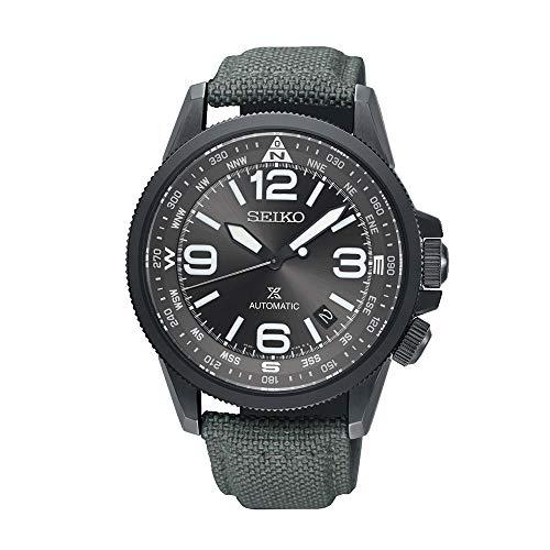 セイコー 腕時計 メンズ 【送料無料】Seiko Prospex Land Automatic Grey Nylon Compass Watch SRPC29K1セイコー 腕時計 メンズ