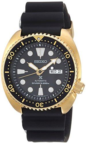 セイコー 腕時計 メンズ 【送料無料】Seiko Men's Prospex Stainless Steel Automatic-self-Wind Watch with Silicone Strap, Black, 21 (Model: SRPC44)セイコー 腕時計 メンズ