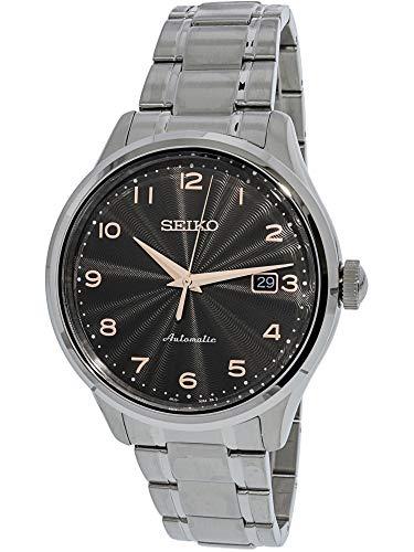 セイコー 腕時計 メンズ 【送料無料】Seiko Automatic Grey Dial Mens Watch SRPC19セイコー 腕時計 メンズ