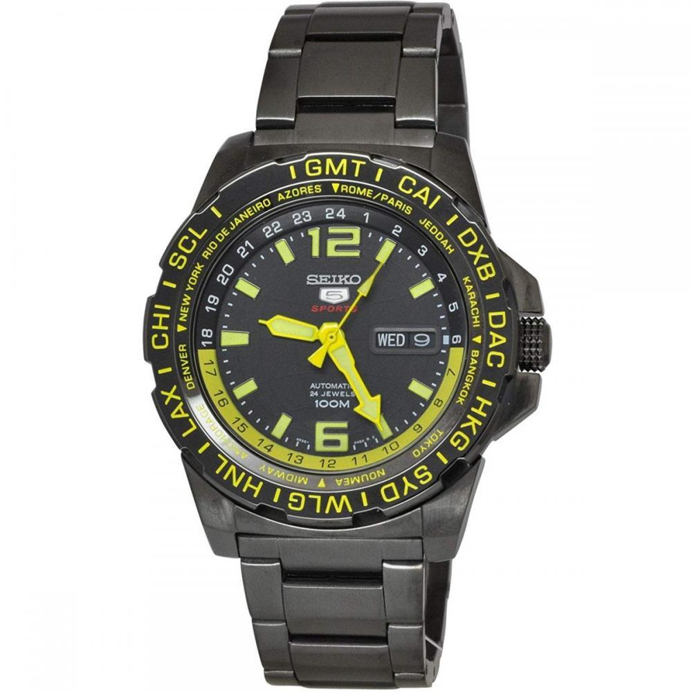 セイコー 腕時計 メンズ Seiko Mens 5 SPORTS Automatic Analog Dress Automatic Watch (Imported) SRP689K1セイコー 腕時計 メンズ
