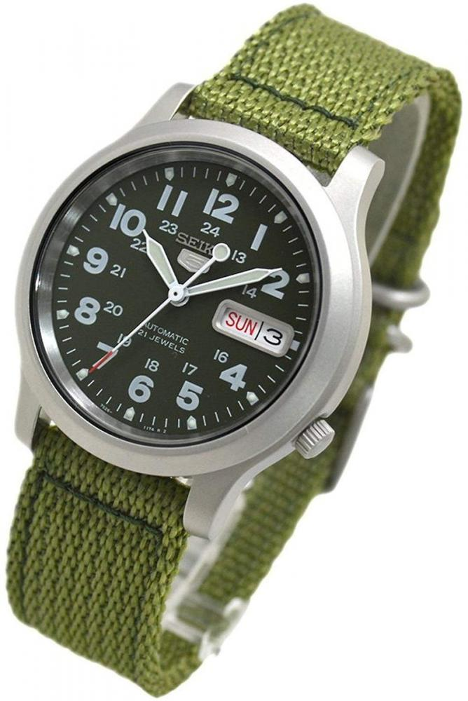 セイコー 腕時計 メンズ SEIKO 5 Men's Military Watch Automatic Green mesh belt SNKN29K1セイコー 腕時計 メンズ
