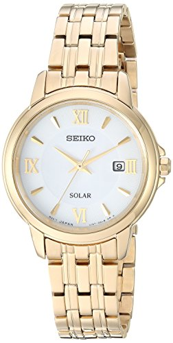 セイコー 腕時計 レディース 【送料無料】Seiko Women's Ladies Dress Japanese-Quartz Watch with Stainless-Steel Strap, Gold, 11.9 (Model: SUT350)セイコー 腕時計 レディース