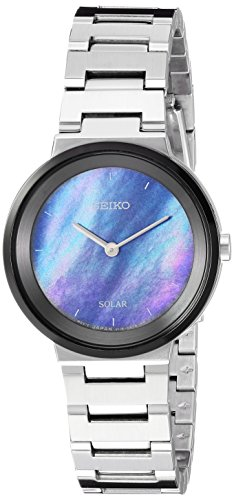 腕時計 セイコー レディース 【送料無料】Seiko Women's Ladies Dress Japanese-Quartz Watch with Stainless-Steel Strap, Silver, 13 (Model: SUP385)腕時計 セイコー レディース