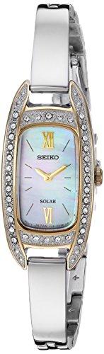 セイコー 腕時計 レディース 【送料無料】Seiko Women's Jewelry Japanese-Quartz Watch with Stainless-Steel Strap, Silver, 6.4 (Model: SUP388)セイコー 腕時計 レディース
