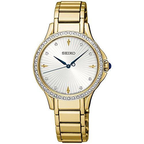 セイコー 腕時計 レディース Seiko Women's Quartz Watch with Stainless Steel Strap, Gold, 14 (Model: Quarz Damen)セイコー 腕時計 レディース