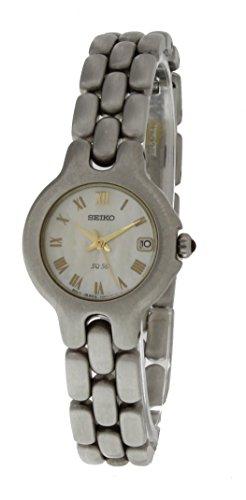 セイコー 腕時計 レディース 【送料無料】Seiko Japanese Quartz Vivace SXD255 Womens Silver Toned Stainless Steel Mother of Pearl Dial Watchセイコー 腕時計 レディース