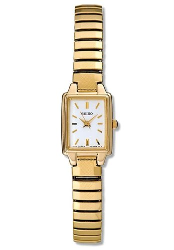 セイコー 腕時計 レディース 【送料無料】Seiko Women's SXGN08 Gold Tone Watchセイコー 腕時計 レディース