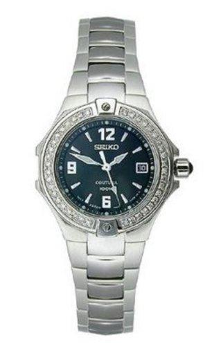 セイコー 腕時計 レディース 【送料無料】Seiko Coutura Diamond Ladies Black Quartz Watch SXDA51セイコー 腕時計 レディース