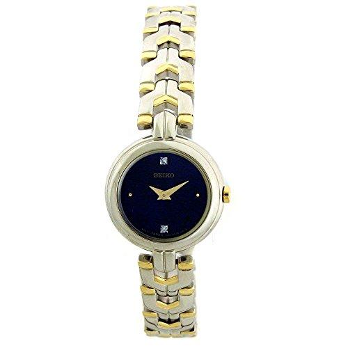 セイコー 腕時計 レディース Seiko Ladies Two Tone Diamond Dress Watch SUJF43セイコー 腕時計 レディース
