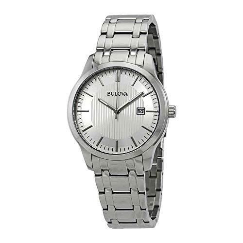 ブローバ 腕時計 メンズ 【送料無料】Bulova Men's 96B245 Silver Stainless-Steel Japanese Quartz Fashion Watchブローバ 腕時計 メンズ