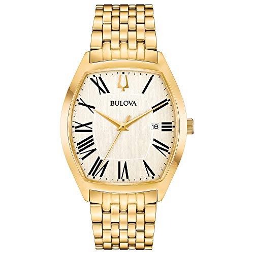 ブローバ 腕時計 メンズ 【送料無料】Bulova Men's 97B174 Analog Display Analog Quartz Gold Watchブローバ 腕時計 メンズ