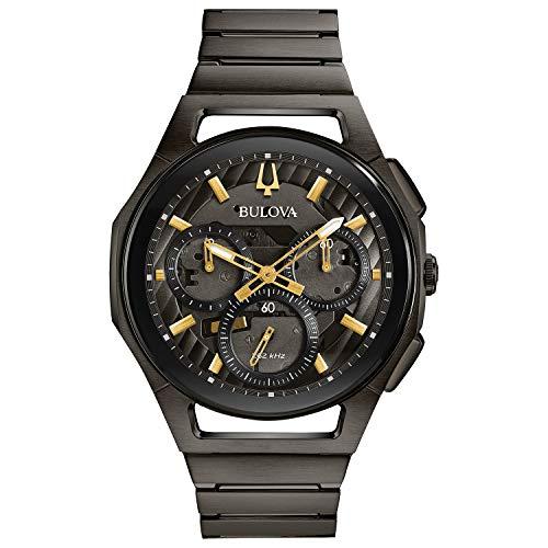 ブローバ 腕時計 メンズ 【送料無料】Bulova Curv Bracelet - 98A206 Grey IP One Sizeブローバ 腕時計 メンズ
