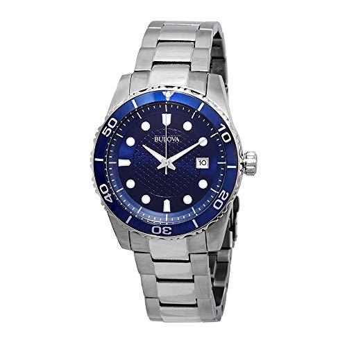 ブローバ 腕時計 メンズ Bulova Sport Blue Dial Stainless Steel Mens Watch 98A194ブローバ 腕時計 メンズ
