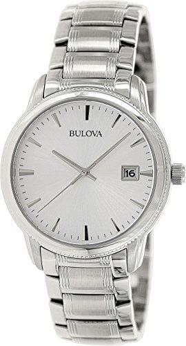 腕時計 ブローバ メンズ 【送料無料】Bulova Men's 96B105 Bracelet Silver Dial Watch腕時計 ブローバ メンズ