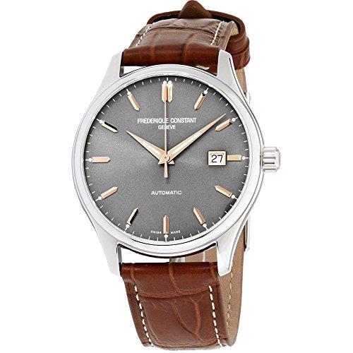 フレデリックコンスタント フレデリック・コンスタント 腕時計 メンズ Frederique Constant Classics Grey Dial Leather Strap Men's Watch FC-303LGR5B6フレデリックコンスタント フレデリック・コンスタント 腕時計 メンズ