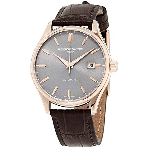 フレデリックコンスタント フレデリック・コンスタント 腕時計 メンズ Frederique Constant Silver Dial Leather Strap Men's Watch FC-303LGR5B4フレデリックコンスタント フレデリック・コンスタント 腕時計 メンズ