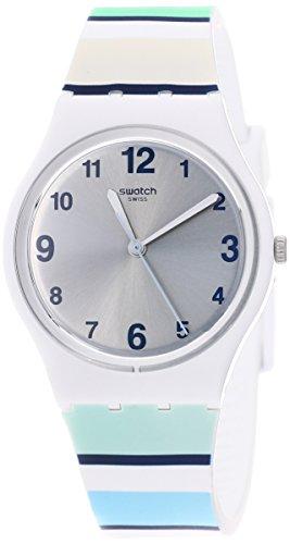 スウォッチ 腕時計 メンズ Swatch Originals Marinai Silver Dial Stainless Steel Unisex Watch GW189スウォッチ 腕時計 メンズ