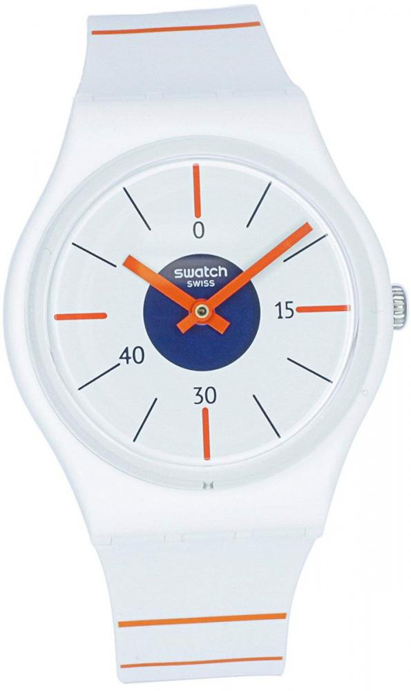 スウォッチ 腕時計 メンズ Swatch Originals Belle De Set White Dial Silicone Strap Unisex Watch GZ318スウォッチ 腕時計 メンズ