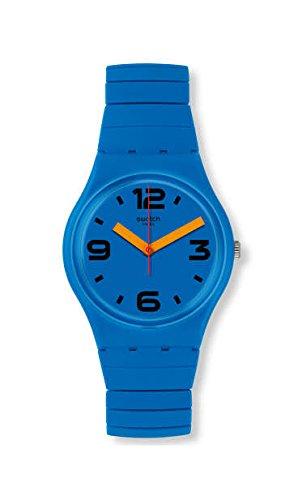 スウォッチ 腕時計 メンズ 【送料無料】Swatch Pepeblu GN251B Blue Stainless-Steel Swiss Quartz Fashion Watchスウォッチ 腕時計 メンズ