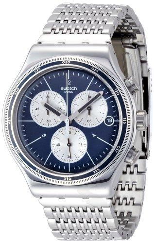スウォッチ 腕時計 メンズ 【送料無料】Swatch Irony Wales Chronograph Men's Watch YVS410Gスウォッチ 腕時計 メンズ