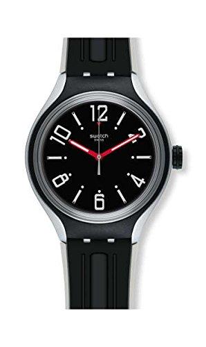 スウォッチ 腕時計 メンズ Swatch Xlite YES1004 Black Silicone Swiss Quartz Fashion Watchスウォッチ 腕時計 メンズ