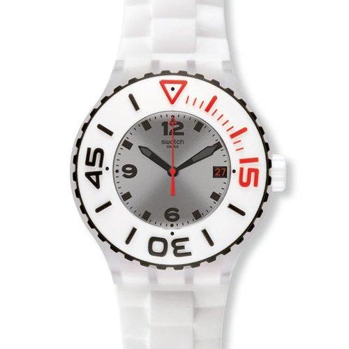 スウォッチ 腕時計 メンズ Swatch Blanca Mens Watch - Whiteスウォッチ 腕時計 メンズ