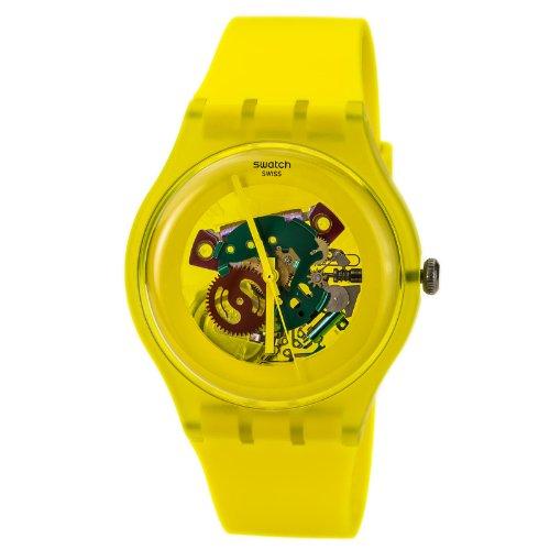 スウォッチ 腕時計 メンズ 【送料無料】Swatch Yellow Lacquered- Suoj100スウォッチ 腕時計 メンズ