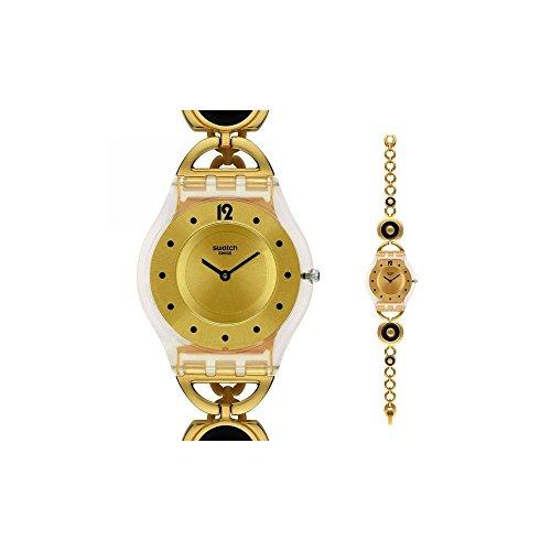 スウォッチ 腕時計 レディース 夏の腕時計特集 【送料無料】Swatch Caring Swing Ladies Watchスウォッチ 腕時計 レディース 夏の腕時計特集