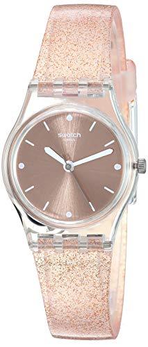 スウォッチ 腕時計 レディース 夏の腕時計特集 【送料無料】Swatch Women's 1804 Time Quartz Silicone Strap, Pink, 13 Casual Watch (Model: LK354D)スウォッチ 腕時計 レディース 夏の腕時計特集