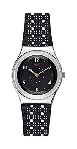 スウォッチ 腕時計 レディース Swatch Women's Irony YLS184 Black Leather Quartz Watchスウォッチ 腕時計 レディース